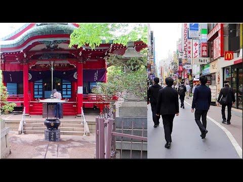 A Walk Around Kichijoji Station, Inokashira Onshi Park [Historical Site]