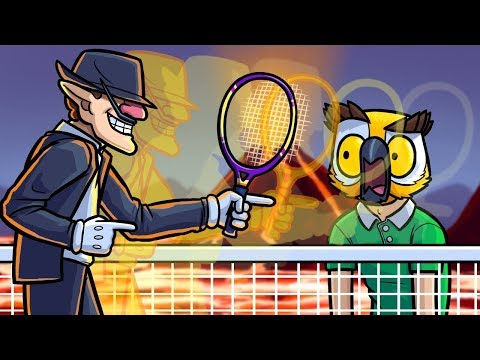 The Moonwalk Trick Shot! - Mario Tennis Aces Funny Moments
