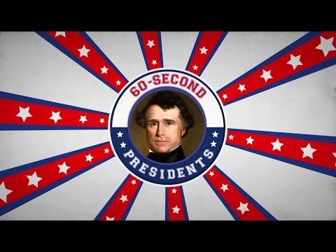 Franklin Pierce | 60-Second Presidents | PBS