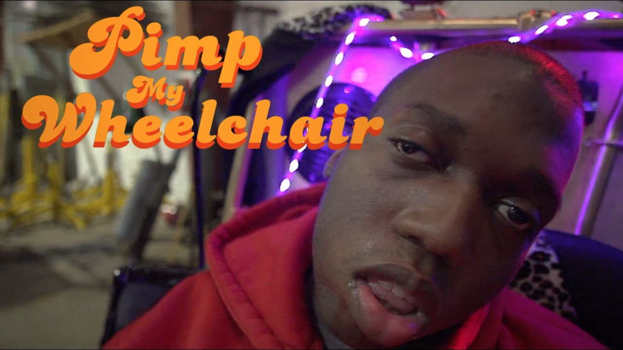 PIMP MY WHEELCHAIR  YouTube