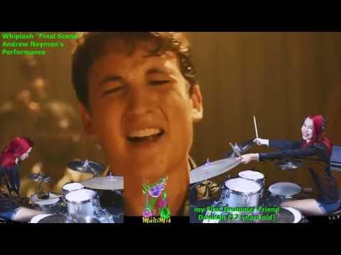 """Whiplash """"Caravan"""" by my First Friend Drummer Devikah (Full Version)"""