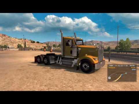 Andando no limite! - Beta 1.5 - ATS + G27 + Notebook - American Truck Simulator - #17