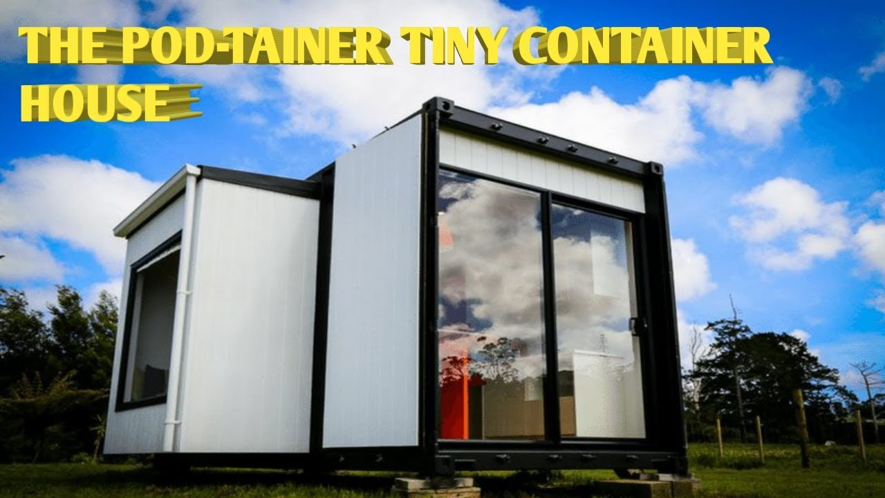 Download The Pod-Tainer Tiny Container House