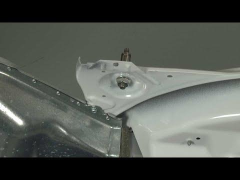 Dryer Drum Roller Axle (Front) Replacement - Whirlpool Dryer Model #WED72HEDW0