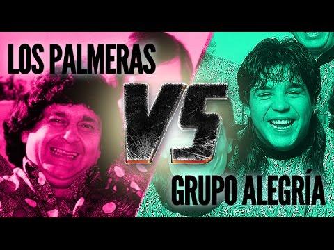 Los Palmeras VS Grupo Alegría De Santa Fe - Enganchados