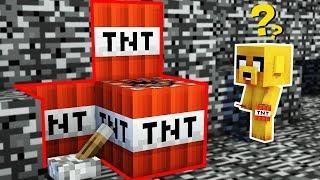¡NADIE ESCAPA DE LA TNT EN MINECRAFT! 😱 ¡AQUÍ NO HAY QUIEN SOBREVIVA! ⚠️💣 RETO DE NO EDITAR!