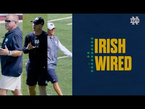 'Oh, you have shake?' Notre Dame coaches mic'd up