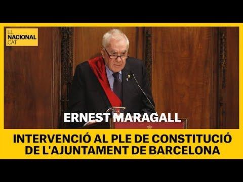 """INTERVENCIÓ de Maragall: """"Sabrem estar a l'altura del que va representar l'1-O i el 3-O"""" [COMPLETA]"""