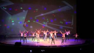 "Детский театр танца ""Искра"" - ""Stop people"" (Аня Сомова и Настя Ханина)"