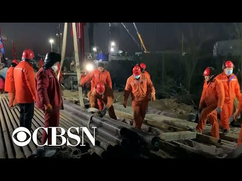 WorldView: Trapped Chinese gold miners; Vatican banker convicted