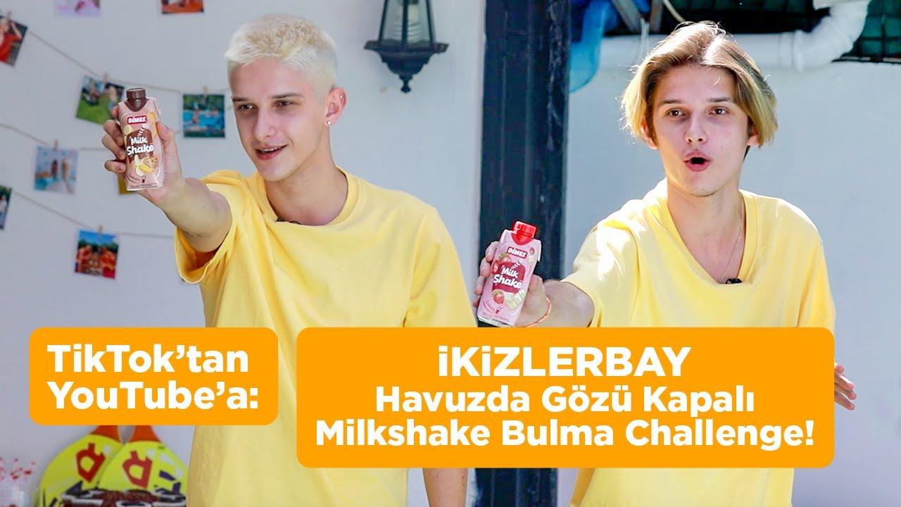 TikTok'tan YouTube'a: İkizlerbay ile Havuzda Gözü Kapalı Milkshake Bulma Challenge!