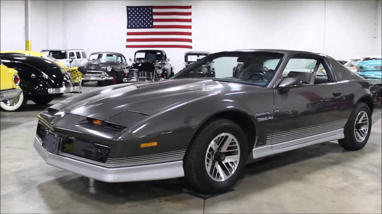 1984 pontiac trans am youtube 1984 pontiac trans am