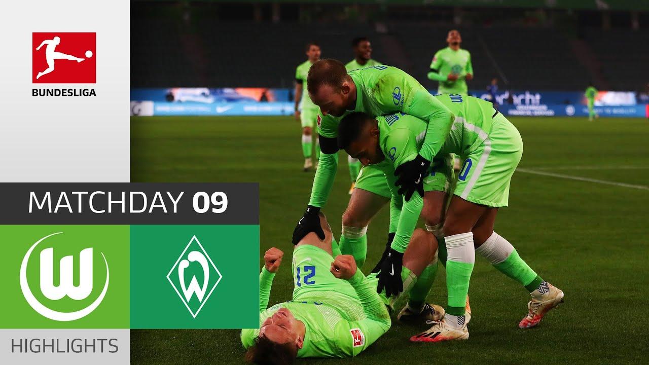 Download VfL Wolfsburg - SV Werder Bremen | 5-3 | Highlights | Matchday 9 – Bundesliga 2020/21