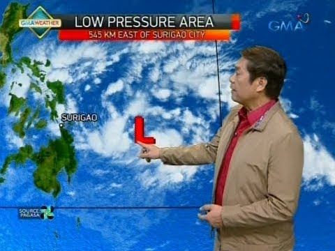 UB: Weather update as of 6:08 a.m. (January 1, 2018)