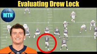 Evaluating Drew Lock's First NFL Start