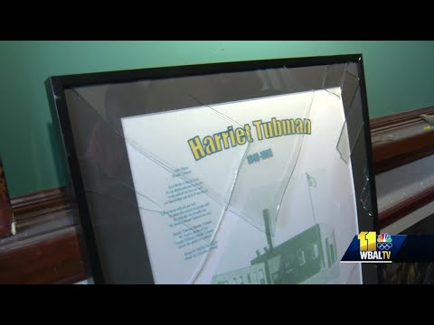 Howard police investigating vandalism at Harriet Tubman Building, the countys former Black high school