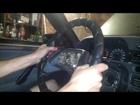 ВАЗ 2114 ЭиРСР (50). как снять руль!
