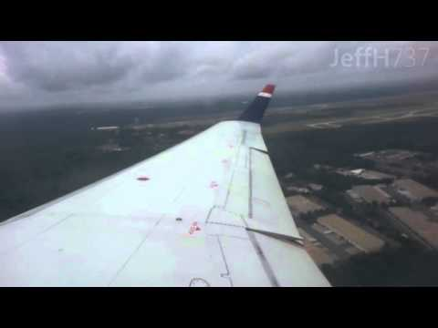 US Airways Express (PSA) CRJ-200 Takeoff from CLT