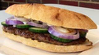 Lamb Kofta Burgers - Video Recipe