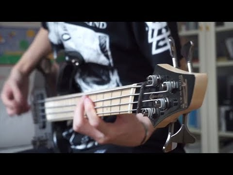 CRADLE OF FILTH - The Foetus Of A New Day Kicking | Bass Cover