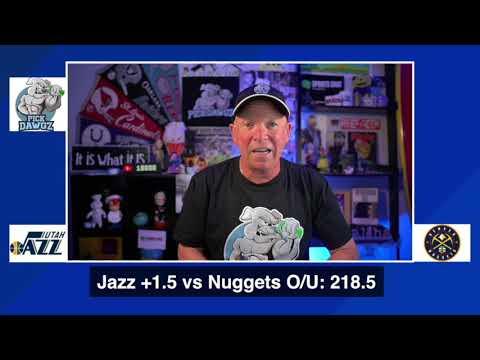 Denver Nuggets vs Utah Jazz 8/21/20 Free NBA Pick and Prediction NBA Betting Tips