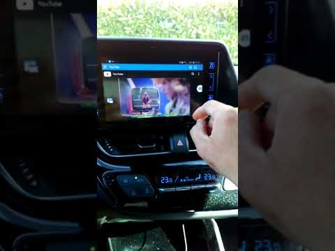 Mirrorlink S8 Toyota C-HR tt2 & go plus with navi YouTube, video and most  of the apps