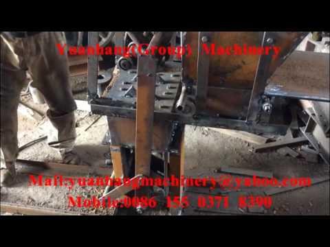 Interlocking Brick Making Machine Test Running