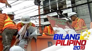 Pagbabaklas sa illegal campaign materials, sinimulan na ng COMELEC