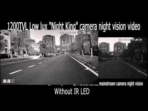 1200TVL Low Lux Night Vision