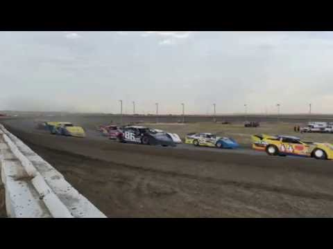 Tyler Amundson 7/2/2016 BMP Speedway heat race (outside)