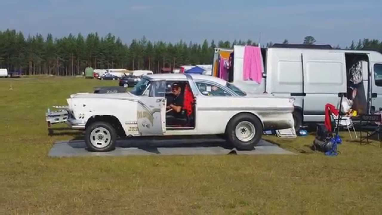 """1956 Ford Crown Vicktoria Gasser """"The Dog Catcher"""" - YouTube"""