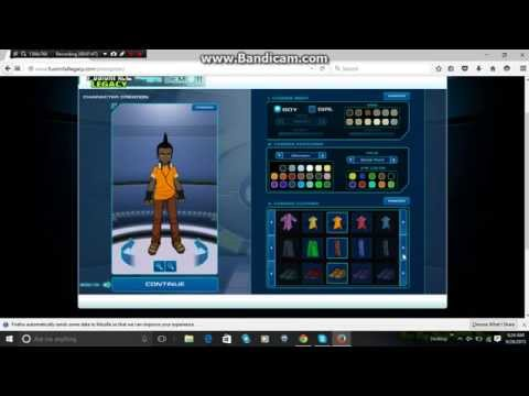 Fusionfall Legacy Character Pre-Register