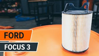How to replace Top strut mount on FORD FOCUS III - video tutorial
