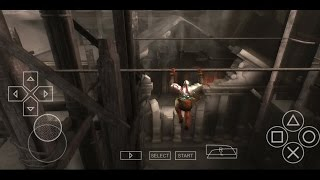 ROPE JUMP - GOD OF WAR GHOST OF SPARTA - PPSSPP BUG SOLVED || TEMPLE OF ATHENA