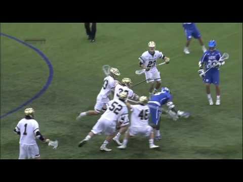 Lacrosse Defense 101 Matchup: Myles Jones vs. John Sexton, Hugh Crance and Notre Dame SSDM's