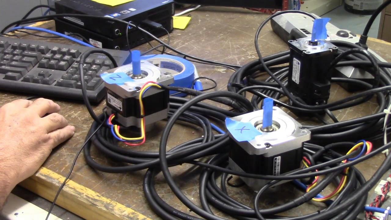 Acorn CNC controller quick start video page