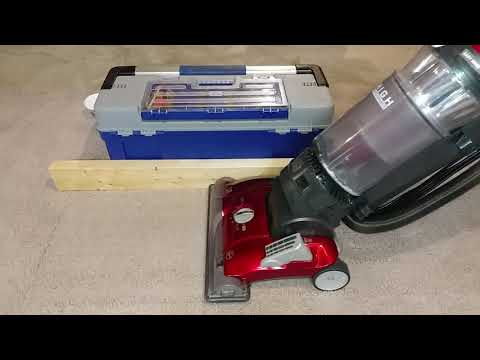 Carpet Edge Cleaning Using A Hoover Windtunnel 3 High Performance