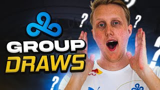 CLOUD9 REACTS TO TΗE WORLDS 2021 GROUP DRAW