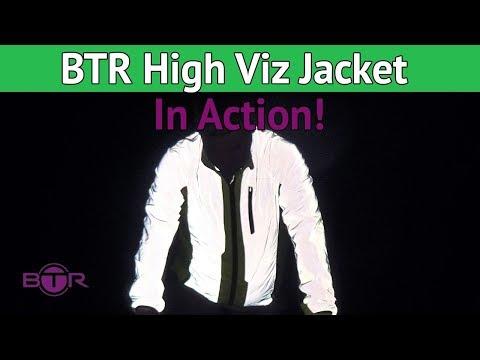 BTR High Visibility & Reflective Jacket