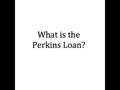 what-is-the-perkins-loan?