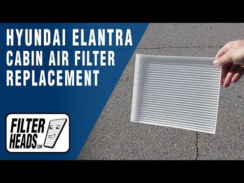 How to Replace Cabin Air Filter 2017 Hyundai Elantra