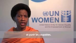 La Journée internationale pour l'élimination de la violence à l'égard des femmes 2014