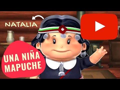 Natalia Una Niña Mapuche | Serie Pichintún