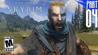 【SKYRIM 200+ MODS】Nord Gameplay Walkthrough Part 4 [PC - HD]