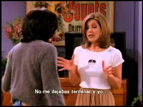 Friends - Monica y Rachel pelean por un actor de cine - Van dame (Subtitulado)