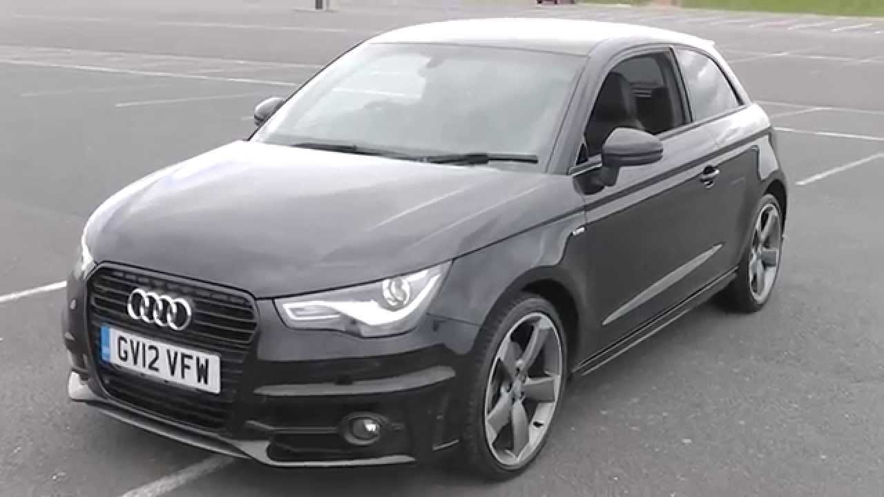 audi a1 1 4 tfsi s line black edition 185 s tronic www promotors co uk 15 995 youtube. Black Bedroom Furniture Sets. Home Design Ideas