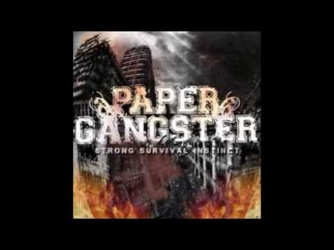 paper gangster Paper gangster - a suburaban kid, can be white or balck, comes from a rich family usually sees a rap videos on tv, asks his rich parents to buy him the clothes he sees and acts like hes from a rough part.
