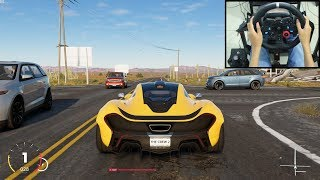 McLaren P1 - The Crew 2 | Logitech g29 gameplay