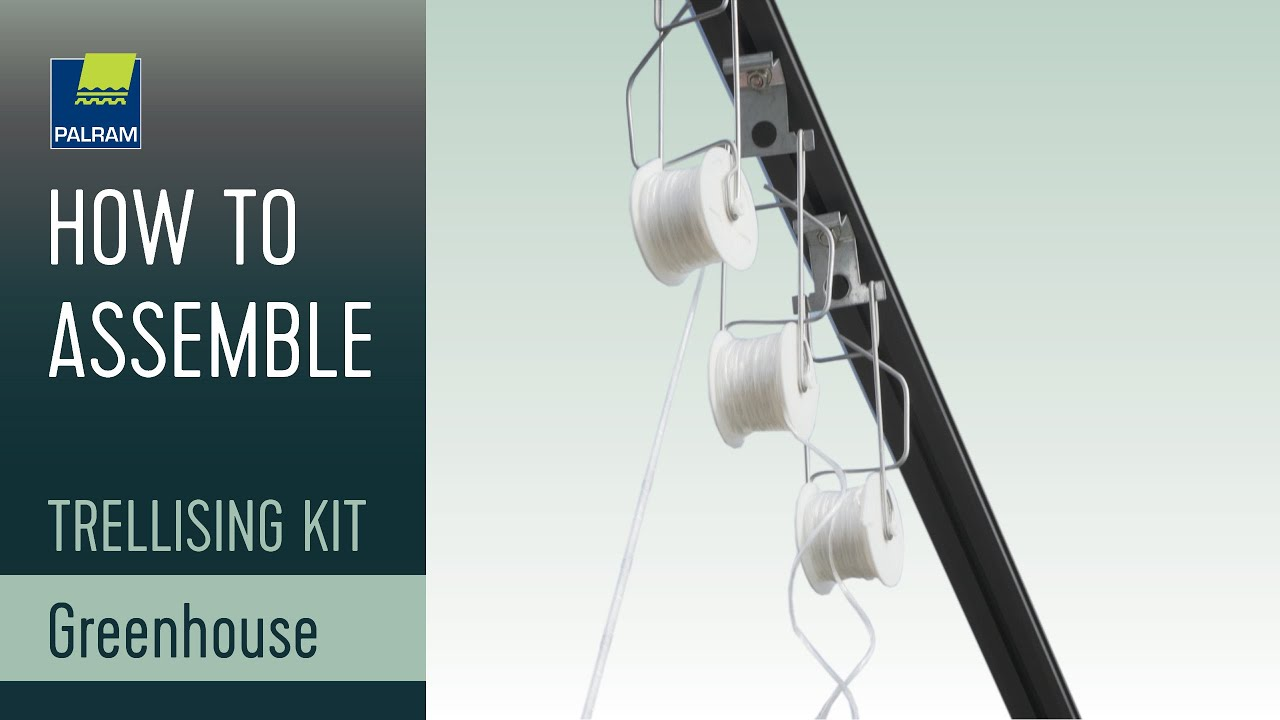 Palram Trellising Kit Pro Greenhouse Accessory