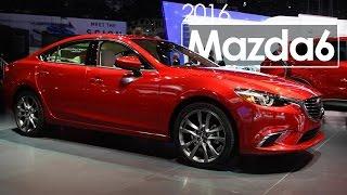 2016 Mazda 6 Sedan   2015 Los Angeles Auto Show(, 2015-11-19T03:37:25.000Z)